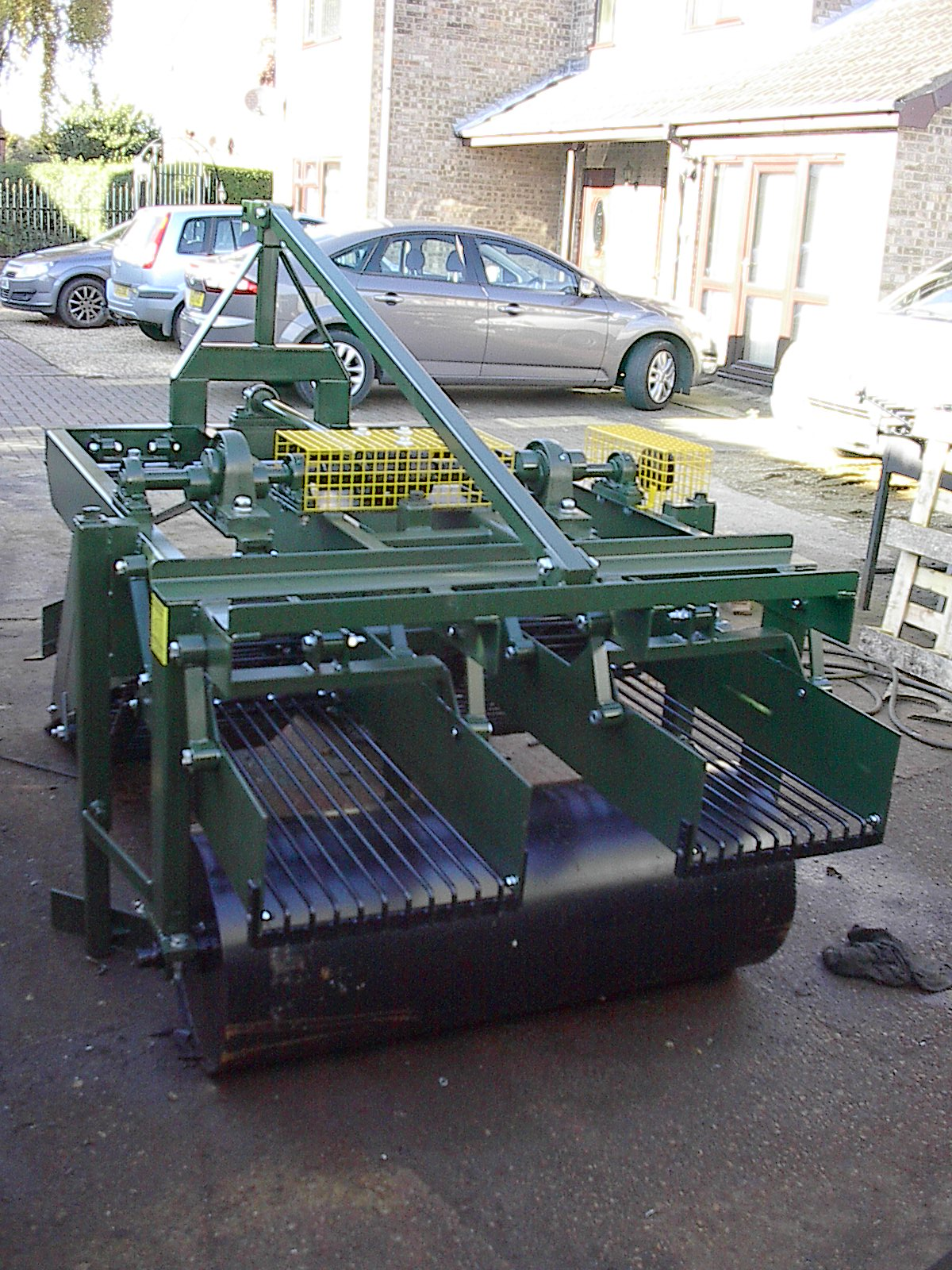 Two Rows Bulb Harvester