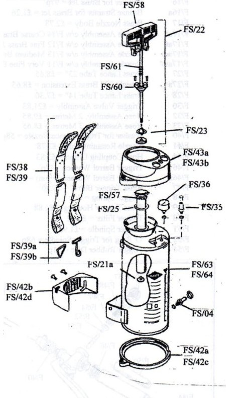 Sprayers Body and Parts1