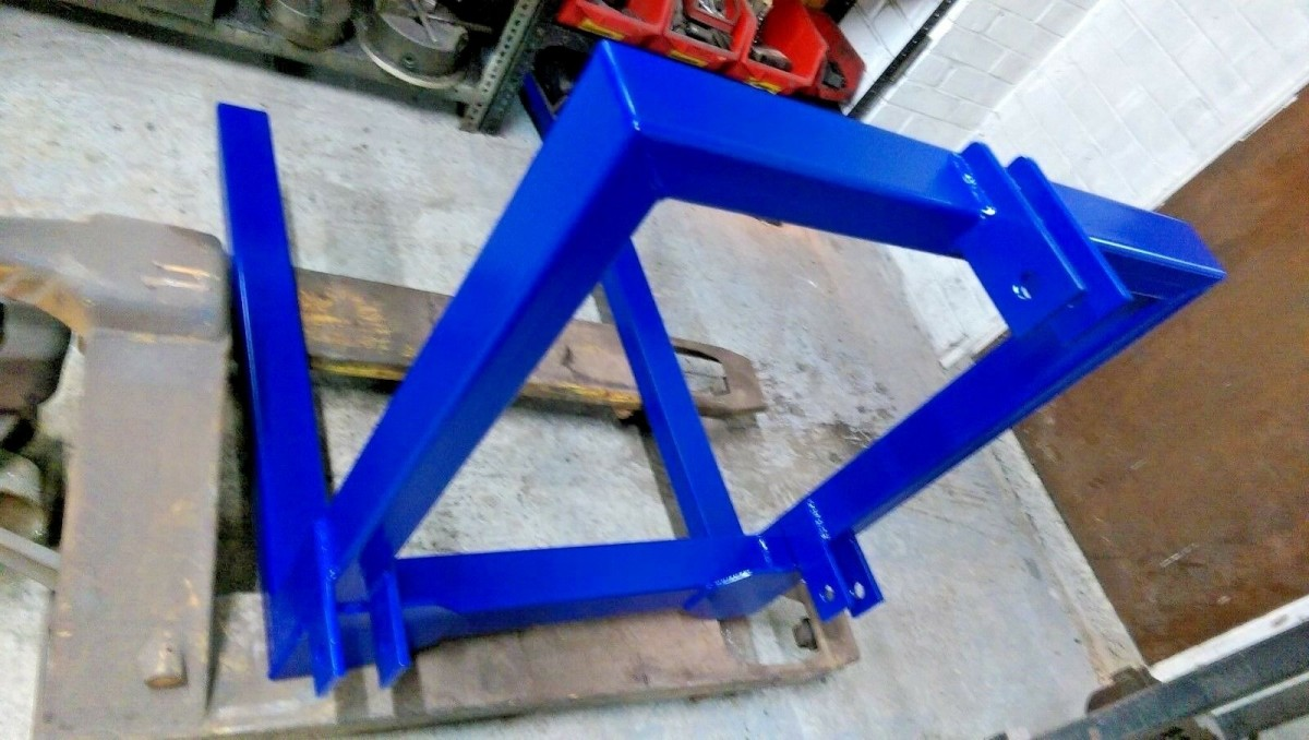 Pallet Forks 800mm 3 Point Linkage Tractor Loader Towing Mounting Lifting Attachment Front/Rear CAT 1/ 2