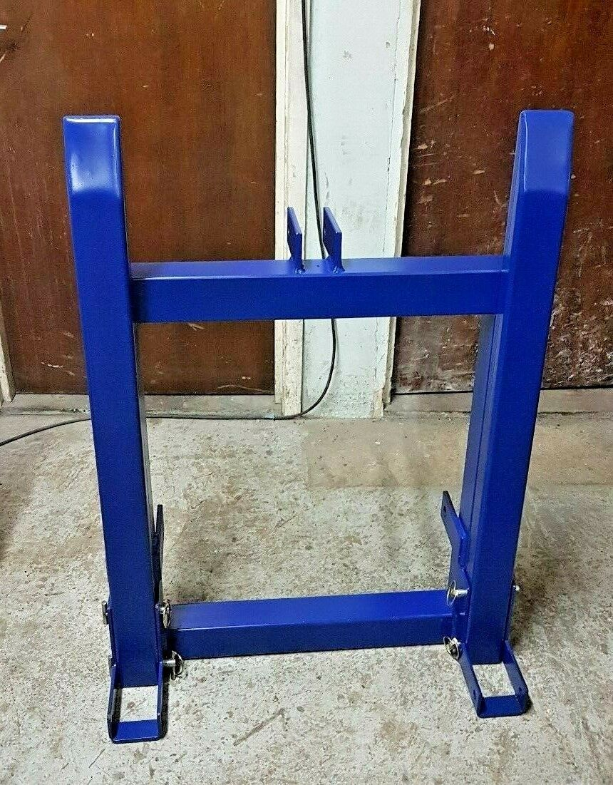Removable Pallet Forks Fold Up Hook Tractor Attachment Tow Trailer Hitch 3 Point Lifting 1200mm